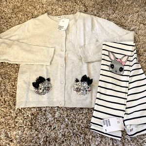 🌿 NWT H&M • Bunny Outfit